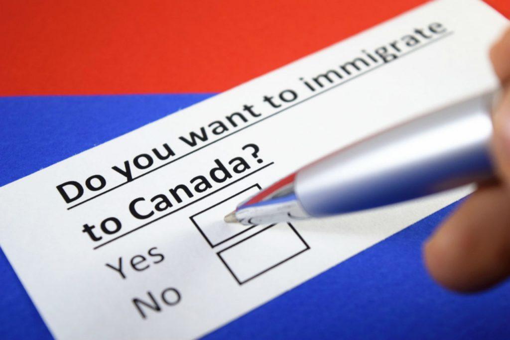định cư Canada 2020