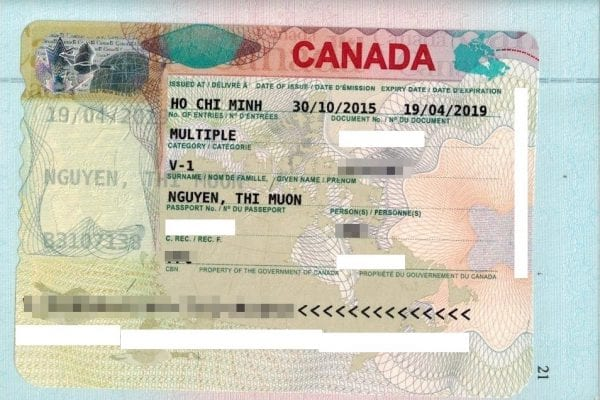 visa canada diện lao động