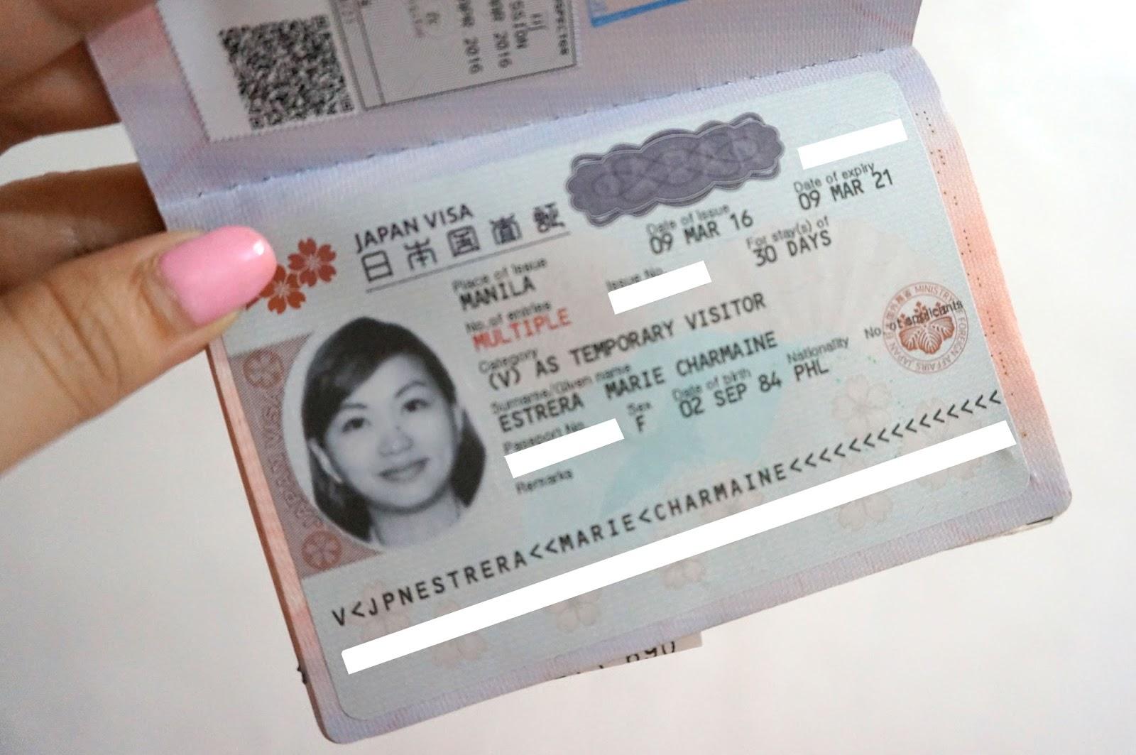 visa multiple nhật bản, visa multi nhật là gì, visa nhật multiple