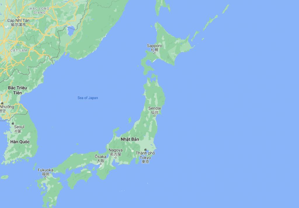 vị trí địa lý nhật bản, vi tri dia ly nhat ban, địa lý nhật bản, vị trí nhật bản,