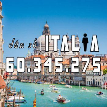 dân số italia, dân số nước ý, dân số nước italia, dân số italia 2021